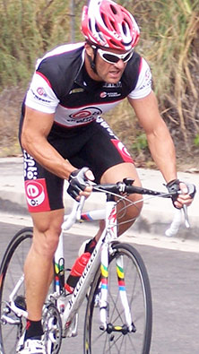 Sports Clothing on Cyclist